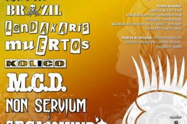 Cartel Cruzada Rock 2012