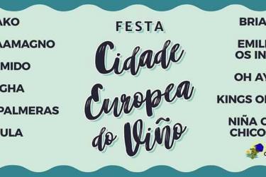 Festa Cidade Europea do Viño 2017