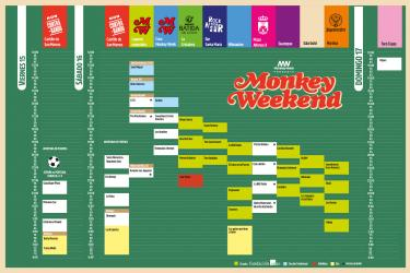 Horarios Monkey Weekend 2018