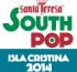 Logo South Pop Festival 2014 (Isla Cristina)